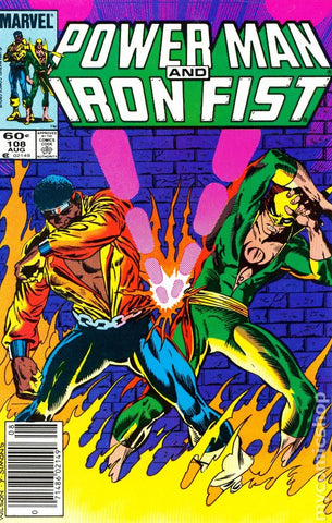 Power Man and Iron Fist 108 Marvel 1984