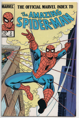 Official Marvel Index To Amazing Spider-Man 2 1985 NM- 30 - 58 Annual 3 4