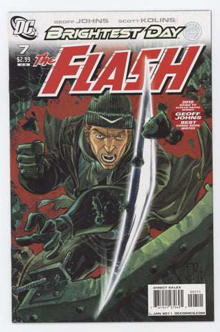 Flash #7 A 3rd Series DC 2011 Francis Manapul GeoFF Johns Brightest Day