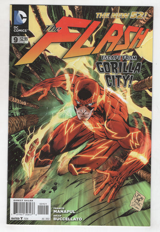 Flash 9 B 4th Series DC 2012 NM New 52 Tony Daniel Variant Francis Manapul