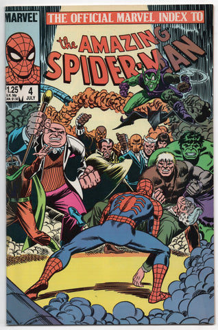 Official Marvel Index To Amazing Spider-Man 2 1985 NM- 85 - 113 John Romita