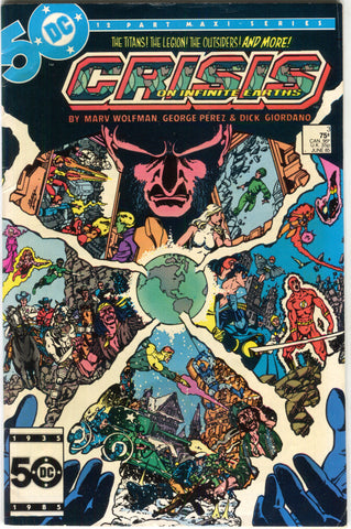 Crisis On Infinite Earths 3 DC 1985 FN George Perez Marv Wolfman Superman