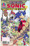 Sonic The Hedgehog Evolution Of A Hero 0 1 Archie 2009 VF FCBD