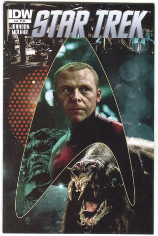 Star Trek 14 A IDW 2012 NM Tim Bradstreet