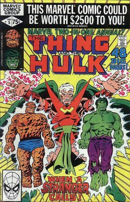 Marvel Two-in-One Annual 5 Marvel 1980 Thing Hulk