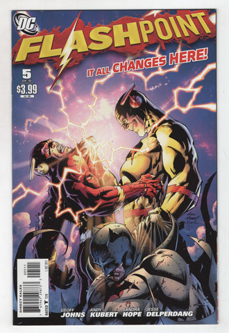 Flashpoint 5 A DC 2011 NM- Flash Aquaman Geoff Johns Andy Kubert
