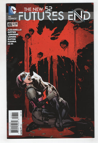 New 52 Futures End 46 DC 2015 NM Ryan Sook Batman Beyond