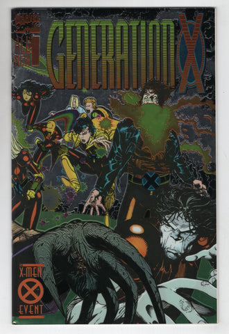 Generation X Collectors Preview 1 Marvel 1994 VF Chris Bachalo Wrap