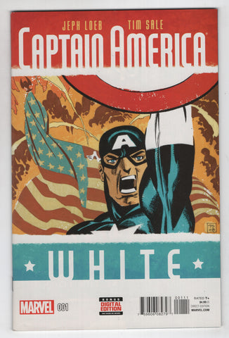 Captain America White 1 A Marvel 2015 Tim Sale Jeph Loeb