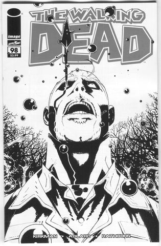 Walking Dead 98 Image 2018 15th Anniversary Wes Craig B&W Variant Blind Bag