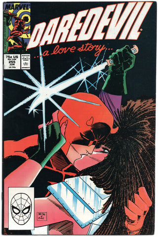 Daredevil 255 Marvel 1988 FN VF 2nd Typhiod Mary John Romita