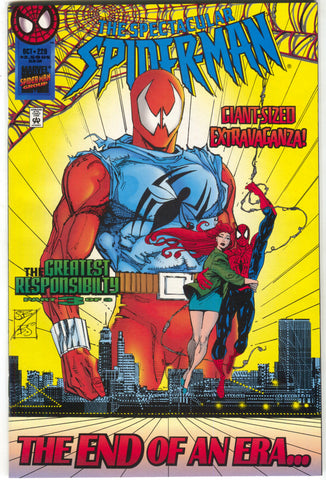 Spectacular Spider-Man 229 Marvel 1995 NM+ 9.6 Newsstand Greatest Responsibilty 3