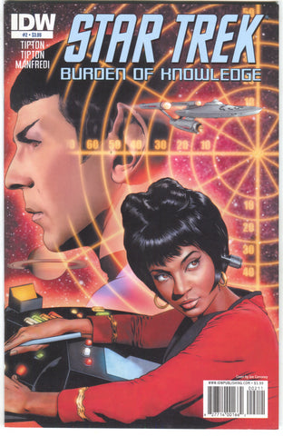 Star Trek Burden Of Knowledge 2 A IDW 2010 NM Joe Corroney