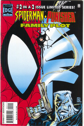 Spider-Man Punisher Family Plot 2 Marvel 1996 NM Tombstone