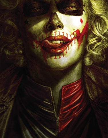 Batman Damned 2 (of 3) DC Black Label Lee Bermejo Brian Azzarello Harley Quinn (11/21/2018)