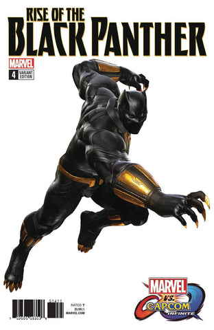 RISE OF BLACK PANTHER #4 (OF 6) Marvel Legacy Game Image Variant (04/04/2018)