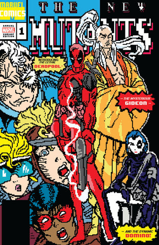 Cable Deadpool Annual 1 Matthew Waite New Mutants 98 Homage Variant (08/15/2018)