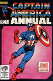 Captain America Annual 7 Marvel 1983 Cosmic Cube Shaper of Worlds