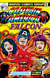 Captain America 210 Marvel 1977 Red Skull Falcon