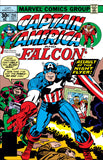 Captain America 214 Marvel 1977 Falcon Night Flyer