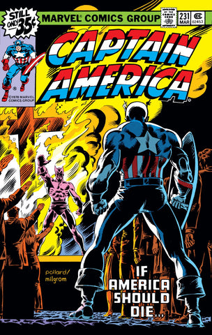 Captain America 231 Marvel 1979 Cross Falcon