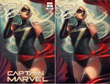 Captain Marvel 1 Stephanie Hans Ms. Marvel Trade + Virgin Options Variant (01/09/2019)