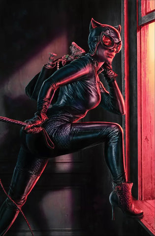 Catwoman #25 B Lee Bermejo Variant Batman Joker War Riddler Penguin (09/15/2020) DC