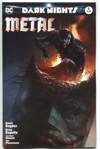 Dark Nights Metal 5 DC 2018 Francesco Mattina Variant Batman Who Laughs Joker