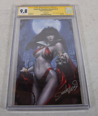 Vampirella Valentine's Day Special 1 Dynamite CGC SS 9.8 Jeehyung Lee Signed Virgin Variant
