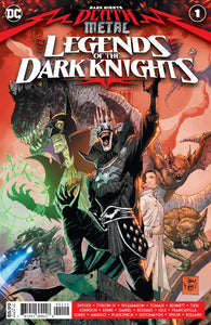 Dark Nights Death Metal Legends Of Dark Knights #1 2nd Print Tony Daniel (08/26/2020) DC