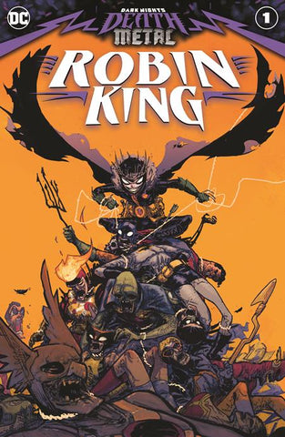 Dark Nights Death Metal Robin King #1 One Shot Riley Rossmo Batman Who Laughs (10/21/2020) DC