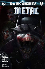 Dark Nights Metal 2 DC 2018 NM Francesco Mattina Variant Batman Who Laughs Joker