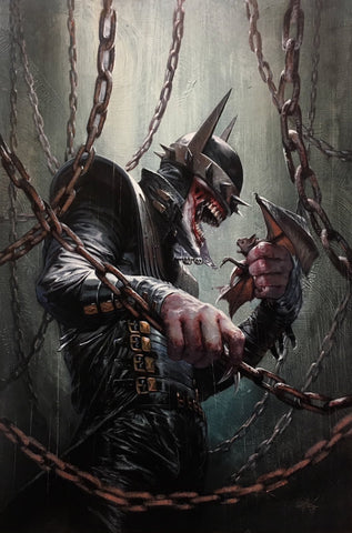 Dark Nights Metal 5 DC 2017 NM Gabriele Dell'Otto Virgin Variant Batman Who Laughs