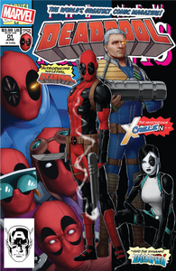 DEADPOOL #1 Marvel 2018 John Tyler Christopher New Mutants 98 Homage Variant