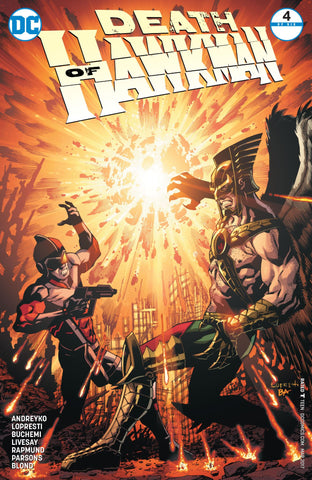 Death of Hawkman 4 DC 2016