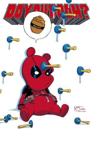 Do You Pooh #1 Marat Mychaels Homage Skottie Young Variant Do You Pooh Deadpool 1 (06/17/2020) Counterpoint