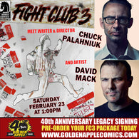 FIGHT CLUB 3 CHUCK PALAHNIUK DAVID MACK LEGACY SIGNING PACKAGE PRE-ORDER