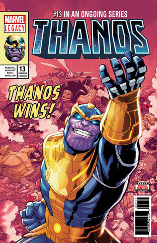 Thanos 13 Marvel 2018 5th Print Variant (05/23/2018)