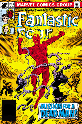 Fantastic Four 233 Marvel 1981 Hammerhead Human Torch