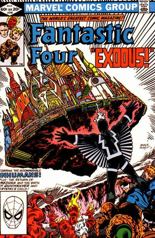 Fantastic Four 240 Marvel 1981 Inhumans Exodus
