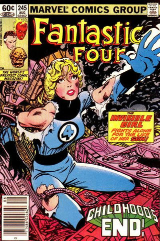 Fantastic Four 245 Marvel 1982 Herbie Franklin
