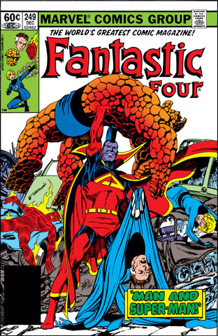 Fantastic Four 249 Marvel 1982 Gladiator