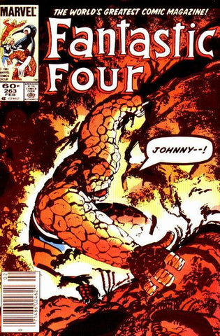 Fantastic Four 263 Marvel 1983 Mole Man