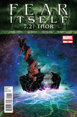 Fear Itself Book 7.2 Marvel 2011Thor