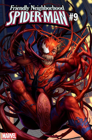 FRIENDLY NEIGHBORHOOD SPIDER-MAN #9 B WOO DAE SHIM CARNAGE-IZED Variant (07/31/2019) MARVEL