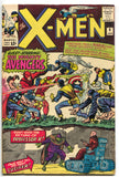 Uncanny X-Men 9 Marvel 1965 FN Avengers AVX Captain America Iron Man Thor
