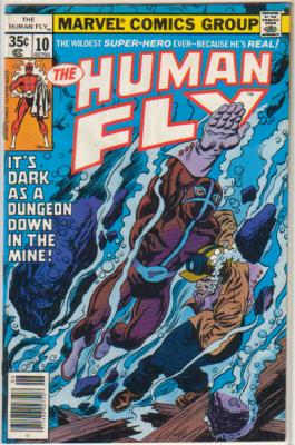 Human Fly 10 Marvel 1978 Miners