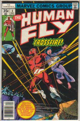 Human Fly 4 Marvel 1977 Martinet