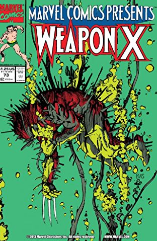 Wolverine Weapon X 73 Marvel Comics Presents 1991