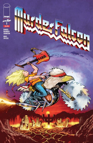 MURDER FALCON #1 Image Heavy Metal Variant (10/10/2018)